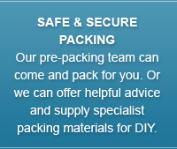 safe and secure packing